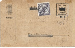 SH 0466. BOSNIE-HERZEGOVINE EP PROVISOIRE  SARAJEVO + TTx  (9 Différents : TP Yv. 71/79 Surchargé PORTO) - Entiers Postaux