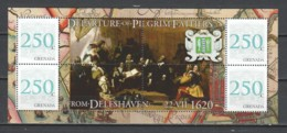 Grenada - MNH Sheet DEPARTURE OF THE PILGRIM FATHERS - Autres