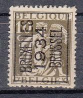 BELGIË - PREO - Nr 284A (Ceres)  BRUXELLES 1934 BRUSSEL - (*) - Typo Precancels 1932-36 (Ceres And Mercurius)