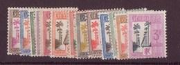 Guadeloupe N° 25 à 37** Taxe - Guadeloupe (1884-1947)