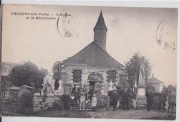 76 FRESNES-LE-PLAN - L'Eglise Et Le Monument - Autres Communes