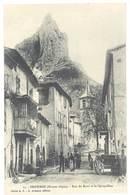 Cpa Hautes-Alpes - Orpierre - Rue Du Barri Et Le Quiquillon - Altri Comuni