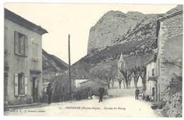 Cpa Hautes-Alpes - Orpierre - Entrée Du Bourg - Altri Comuni