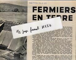 Extrait De Nord Fr A Batna Sur La Route D'Arris La Ferme Des Trois Pierres Est En Ruines ( Constantine - Journaux - Quotidiens