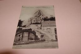 02 AISNE  -  Cpa  SEPTVAUX  *  Eglise Et Escalier    // Environ De Fresnes Sous Coucy - France
