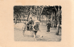 JAPAN , RICKSHAW 1900 - Tokyo