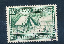 BELGIAN CONGO COB 152 USED - Belgisch-Kongo
