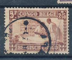 BELGIAN CONGO COB 157 USED - Belgisch-Kongo