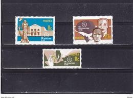 MALTE 1986 Année Internationale De La Paix Yvert 724-726 NEUF** MNH - Malta