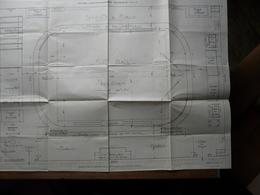 VIEUX PAPIERS - PLAN : Modèle-type Du Ministère De La Guerre (Service De L'Instruction Physique) - Stade D'Entrainement - Architecture