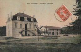 *** 40 *** SORE  -- SORE  Château Castagn -papier Toilé Colorisée TTB - Sore