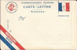 Carte Lettre  Correspondance Militaire   Franchise Guerre De 1914 - Vieux Papiers