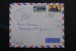 NOUVELLE CALÉDONIE - Enveloppe De Nouméa (Chambre Agriculture) Pour Toulouse En 1958, Affr. Plaisant  - L 58771 - Cartas