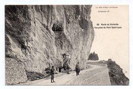 Menton - Route De Vintimille Prise Du Pont St Louis - Menton