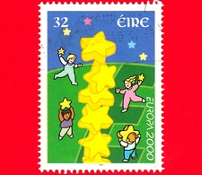 IRLANDA - Eire - Usato - 2000 - Europa - C.E.P.T. - Torre Di Stelle - 32 - Usati