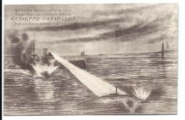 TORPILLAGE Du CROISEUR ITALIEN GARIBALDI Par Un Sous-marin Autrichien - VENTE DIRECTE X - Guerra 1914-18