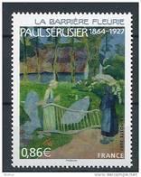 """FR YT 4105 """" Paul Sérusier Peintre """" 2007 Neuf** - France"""