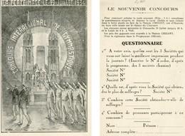 LA FERTE MACE CONCOURS INTER REGIONAL DE GYMNASTIQUE 29 JUILLET 1934 SOUVENIR MAISON ORHANT - La Ferte Mace