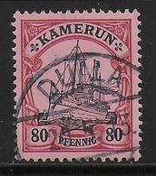 CAMEROUN ALLEMAND - YVERT N° 15 OBLITERE DOUALA 1913  !! - Colonie: Cameroun