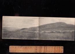 ORBEY Haut Rhin 68 / Le Linge Carte Postale Double Panoramique Champ De Bataille Guerre WWI - Orbey