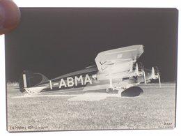 NEGATIVO FOTOGRAFIA  AEREO CAPRONI CA 101  I-ABMA - Aviation