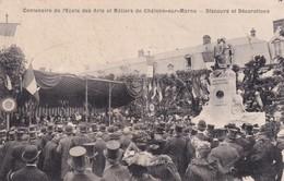 51, Centenaire De L'Ecole Des Arts Et Métiers De Châlons Sur Marne, Discours Et Décorations - Châlons-sur-Marne