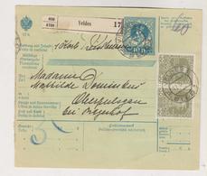 SLOVENIA,Austria 1913 VELDES BLED Parcel Card - Slovenia