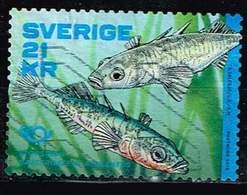 Schweden 2018,Michel# 3224 O Norden Omnibus 2018 : Fishes - Sweden