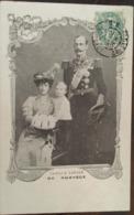 Cpa, Famille Royale De Norvège, (Kongefamilien Av Norge-Royal Family Norway) Voyage Des Souverains à Paris, écrite 1907 - Familles Royales