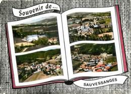 63 , SAUVESSANGE , Multivues Style Livre Ouvert , * M 23 83 - Francia