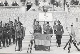 CHASSEURS ALPINS - La France Peut Compter Sur Nous , Les Fils Digne Des Pères  Photo Format C.P.A. =  9cm X 14cm - Regiments