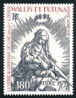 WALLIS ET FUTUNA 1979 - Yv. PA 100 Obl.   Cote= 7,00 EUR - Noël 1979. Gravure De Albrecht Dürer  ..Réf.W&F22573 - Luftpost