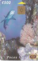 TARJETA DE COSTA RICA DE UN TIBURON (SHARK) - Costa Rica