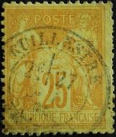 -Sage N°92  Type Ll.(CAD) O.GUILLESTRE ( 04 ). - 1876-1898 Sage (Type II)