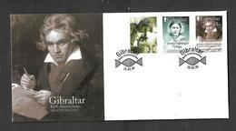 GIBRALTAR 2020 BIRTH CENTENARIES FDC - Gibraltar