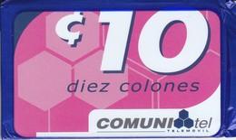 TARJETA DE EL SALVADOR DE 10 COLONES DE COMUNITEL (NUEVA-MINT EN BLISTER) - El Salvador