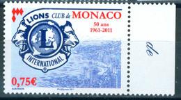 Monaco 2011 Lions International Club 1v MNH - Mónaco
