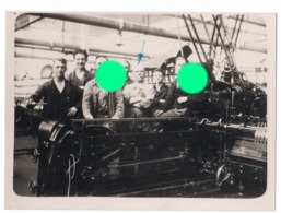 Usine Textile Vers 1930 Environs De Verviers Machine De Peignage - Métiers