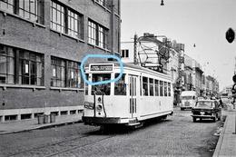 PHOTO  TRAM 33 LA LOUVIERE LA CROYERE MANAGE HAINE SAINT PIERRE - Tramways