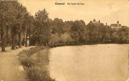 026 067- CPA - Belgique - Genval - Un Bord Du Lac - Rixensart