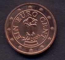 EuroCoins < Austria > 1 Cent 2003 UNC - Autriche