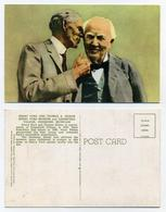 CP US Non Utilisée - Henry Ford & Thomas Edison - Greenfield Village, Dearborn, Michigan - Voir Recto Et Verso - Celebrità