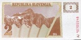 Slovenia 2 Tolarjev, P-2 (1990) - UNC - Slovénie