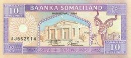 Somaliland 10 Shilin, P-2 (1994) - UNC - Somalia