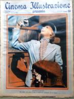 Cinema Illustrazione 24 Maggio 1933 Greta Garbo Cooper Valentino Sherlock Holmes - Cinema