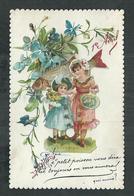 Fantaisie Avec Découpis Poisson 1er Avril, Format 11cm X 7cm - Cartoline Con Meccanismi