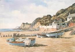 CPSM VENTNOR - Steephill Cove - By Muriel Owen   L3075 - Ventnor
