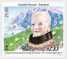 Groenland / Greenland - Postfris / MNH - 80 Jaar Koningin Margrethe 2020 - Unused Stamps