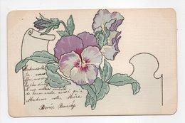 - CPA FLEURS / PEINTE - - Flores