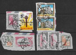 Zanzibar - Timbres Surchargés Jamhuri 1964 - TB - Zanzibar (1963-1968)